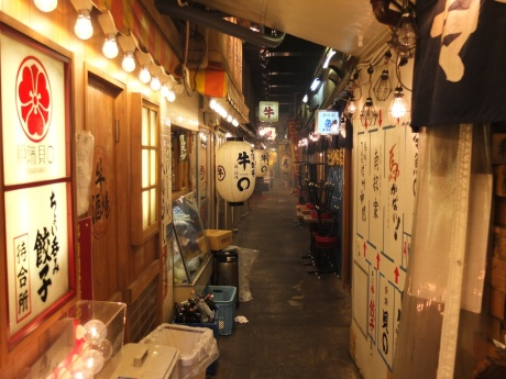 atmospheric dining in ginza