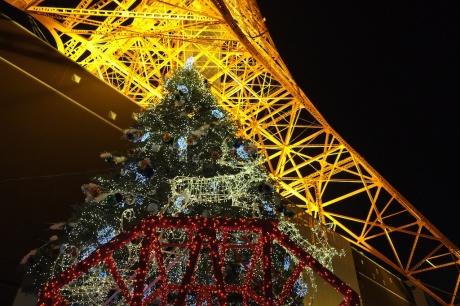 christmas at tokyo tower